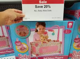 Toys R Us Deluxe Art by 20 Off Baby Alive Dolls At Toys