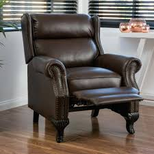 Leather Tufted Chair And Ottoman by Dark Brown Leather Look Juvenile Chair Ottoman Piece Set Club And