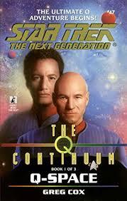The Q Continuum Book One Space Star Trek Next