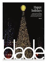 Stew Leonards Christmas Trees 2015 by Washingtonblade Com Volume 46 Issue 52 December 25 2015