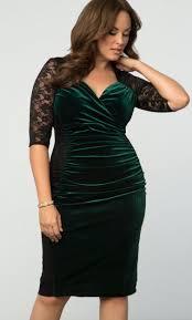 plus size velvet dress hourglass lace dress