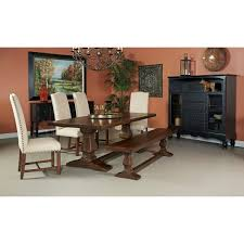 Woodbridge Dining Set And Bench