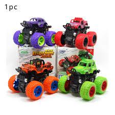 100 Kids Monster Trucks 1PC Cars Toys Truck Inertia SUV Friction Power
