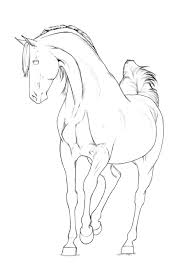 Realistic Arabian Horse Coloring Pages Collection 7 K DOWNLOAD Pics Detail Name