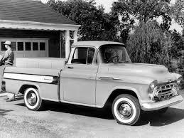100 1957 Truck Chevrolet 3100 Cameo Fleetside Pickup 3A3124