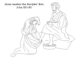 Jesus Washing Disciples Feet