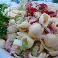 salade de pâtes froides au jambon qc allrecipes ca miam miam