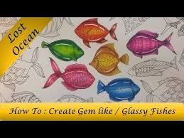 Download Video How To Color Glassy Gem Like Fish