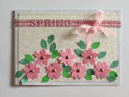 Card Making Ideas For Spring
