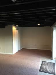 Installing Drywall On Ceiling In Basement by Royersford Basement Painting Laffco Painting