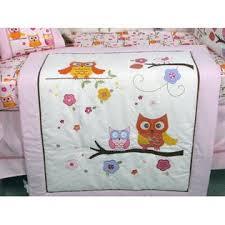 Soho Designs SoHo Pink Dancing Owl Baby Crib Nursery Bedding Set
