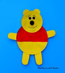 Winnie The Pooh Paper Plate Craft