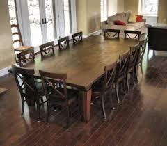 Wonderful Large Dining Room Table Seat 12 Idea That Foter Denni Future 20 10 14 Set