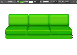 Create A Vibrant Vectorized Sofa In Photoshop SitePoint
