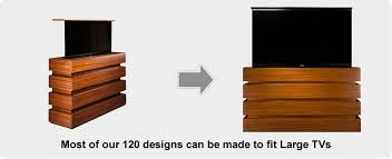 New Year New You – Revamp Living Space with Custom TV Lift Cabinet from Cabinet Tronix