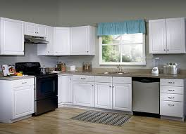 Menard Kitchen Cabinets Colors Brilliant Value Choice 18 Ontario White Standard Height Wall