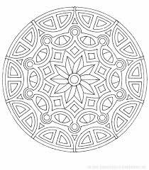 dessin a imprimer mandalas étoile 42 mandalas coloriages à imprimer