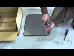 efbff furniture feed floor box bare concrete terrazzo ring fp
