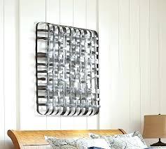 Pottery Barn Metal Wall Decor by Wall Decor Stickers Custom Black And White Basket Art Pottery Barn
