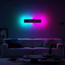nordic rgb led wand le bunte wohnzimmer dekoration wand lichter esszimmer innen beleuchtung schlafzimmer dimmbare lichter