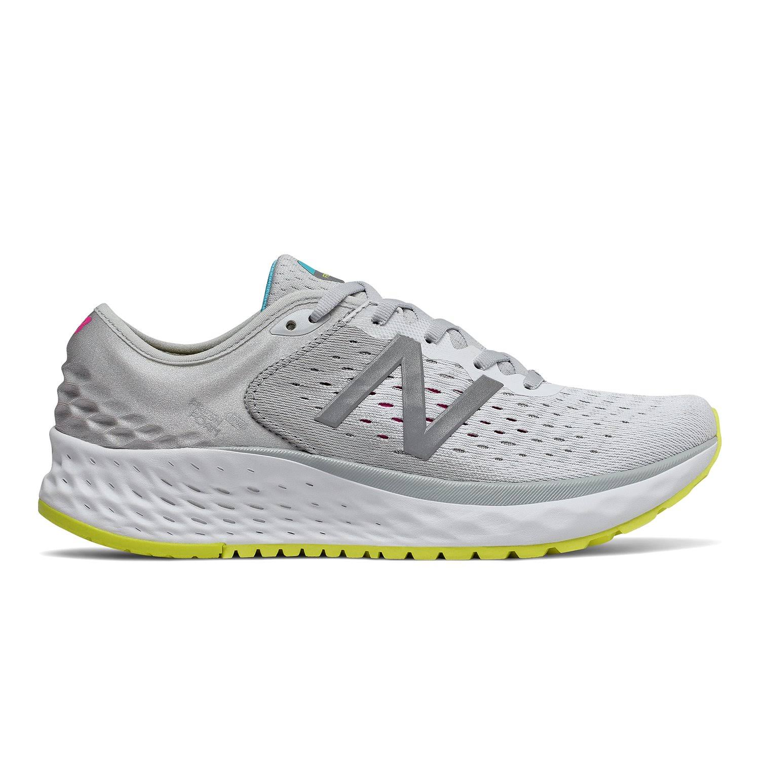 New Balance Women's Fresh Foam Running Shoes - Light Aluminum/Silver