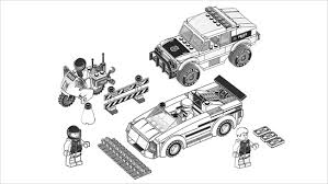 Free Coloring Pages Police Cars Lego City To