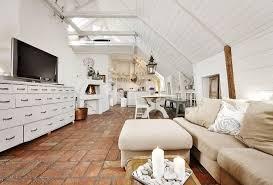 shabby chic möbel verleihen einer dachwohnung mondernen
