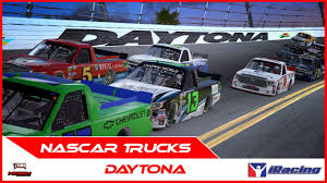 100 Nationwide Truck Series Daytona IRacing YouTube