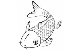 Koi Fish Coloring Page New Pictures To Print Animal