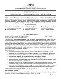 Life Insurance Resume Samples Product Management And Marketing Executive Example Agent Examples