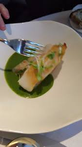 cuisine emulsion hake with jade emulsion picture of jean georges york city