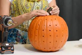 Pumpkin Carving With Drill by Last Minute Creative Pumpkin Decorating Ideas San Diego