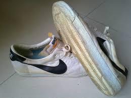 Vintage 80s Nike Canvas Tennis Shoes