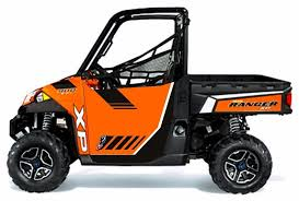 ReadyForce 2013 Polaris Ranger XP 900 Door Graphics Kit