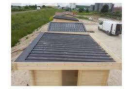 bac a avec toit bac acier pour toit plat tous chalets