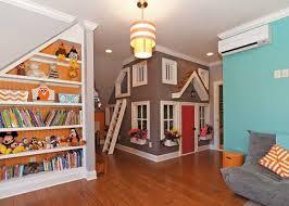 Unique Basement Ideas For Kids Area Kids Basement Playhouse