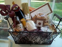 Traditional Housewarming Gift Wine Bread Salt And A Broom