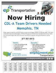Employment Plus Hiring CDL-A Team Drivers | Job & Career News From ... Cdllife Dicated Lane Solo Company Driver Dry Van Truck Baylor Trucking Join Our Team Class A Driving Jobs Armstrong Transportation Dallas Tx Intermodal Cartage Group Indian River Transport S J Logistics 5375 E Holmes Rd Memphis Tn 38118 Cdl In Tennessee And Kentucky Gcb Inc Mesilla Valley I74 Indiana Part 3 Open Positions Knight Tld Offers Services Traing Flatbed Truck Driving Jobs Available For