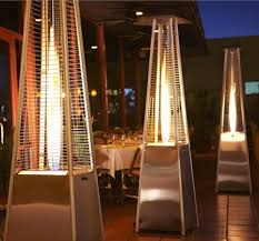 Fire Sense Deluxe Patio Heater Stainless Steel by Firesense Stainless Steel Pyramid Flame Heater Portable Heaters