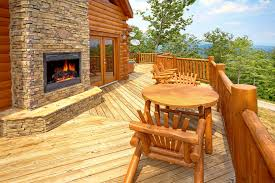 5 Bedroom Cabins In Gatlinburg by A View To Remember Cabin In Sevierville Elk Springs Resort