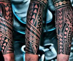 Popular Tribal Forearm Tattoo