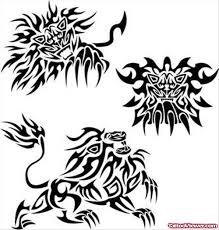 African Tribal Tattoos Design