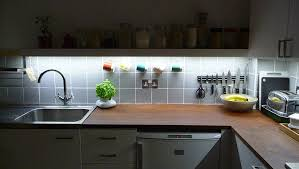fresh kitchen counter led lights kitchen lighting ideas
