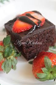 resepi brownies azie kitchen pawtaste