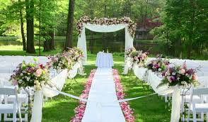 Garden Weddings Bring The Beauty Of A Wedding Out Into Nature And Best Venues In New Jersey Offer Flawlessly Manicured