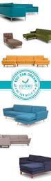 Kenton Fabric Sectional Sofa 2 Piece Chaise by Best 25 Fabric Sectional Ideas On Pinterest