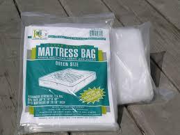 Plastic Mattress bag QUEEN size 3MIL