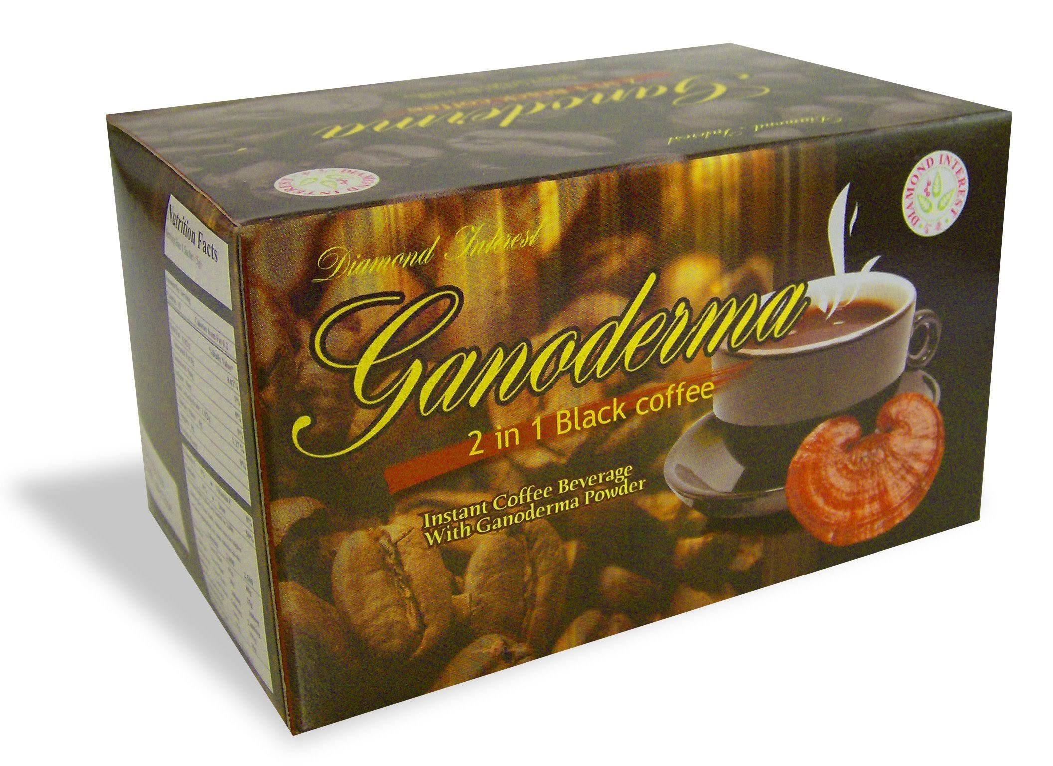 Dynalab Ganoderma 2 in 1 Black Coffee - 1550