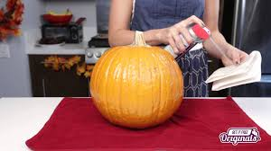 Keep Pumpkins From Rotting On Vine by Preserve Your Pumpkins For Decoration Youtube