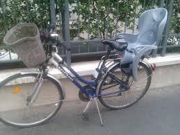 vélo avec siège bébé vélo de ville avec le siège bébé 100 00 à 13eme